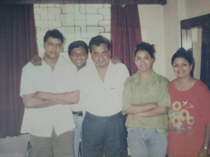 ankush chaudhari old photo