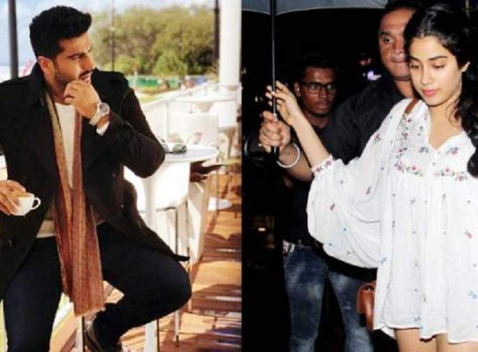Arjun Kapoor flares again with news of sister Janhavi's dress   बहीण जान्हवी कपूरच्या ड्रेसवरील बातमीने पुन्हा भडकला अर्जुन कपूर!