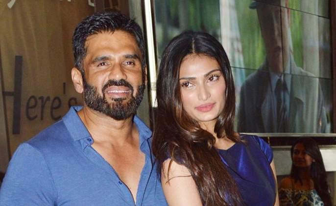 Sunil Shetty's daughter Athiya Shetty falls in love with 'Y'   सुनील शेट्टीची मुलगी अथिया शेट्टी पडली 'या'च्या प्रेमात..