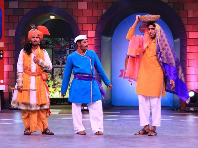 Sarat fame rides and ballets are seen in the GST Express | सैराट फेम सल्या आणि बाळ्या दिसणार कॉमेडीची GST एक्सप्रेसमध्ये