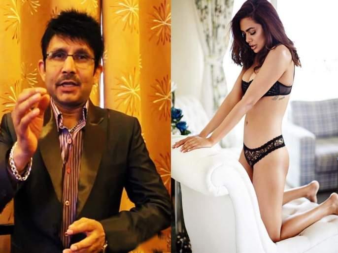 KARK compared the Sunny Leonei to Isha Gupta, who shares the Nude photo; Even the answered reply! | न्यूड फोटो शेअर करणाऱ्या ईशा गुप्ताची केआरकेने केली सनी लिओनीशी तुलना; ईशानेही दिले सडेतोड उत्तर !