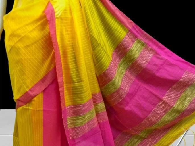 'Desi Sarei' for the culture of culture, it is very funny! | आॅफिस कल्चरसाठी 'देसी साडी' देई हटके लूक!