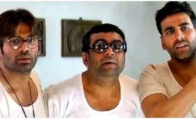 Akshay Kumar, Sunil Shetty and Paresh Rawal to be seen in Hera Ferry 3? | हेरा फेरी ३ मध्ये झळकणार अक्षय कुमार, सुनील शेट्टी आणि परेश रावल?