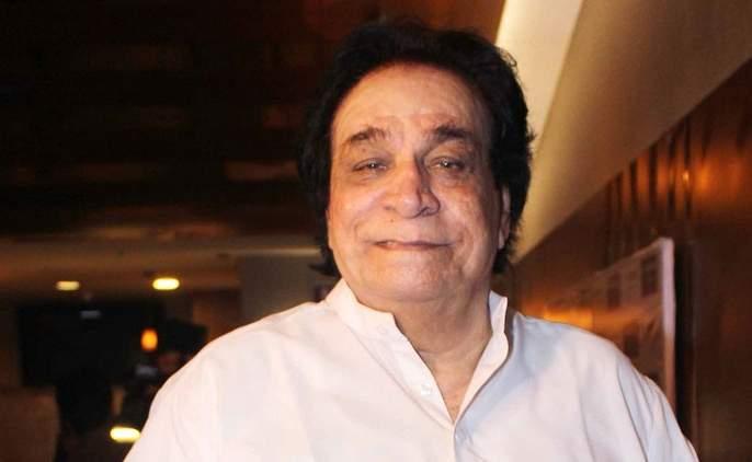 Veteran actor Kader Khan, who suffered a stroke, went to the hospital | ज्येष्ठ अभिनेते कादर खान यांची तब्येत बिघडली,रूग्णालयात केले दाखल