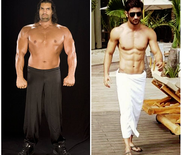 Sushant Singh Rajput's role as 'The Great Khali' on the big screen? | सुशांत सिंग राजपूत साकारणार मोठ्या पडद्यावर 'द ग्रेट खली'ची भूमिका ?