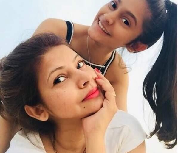 megha dhade daughter photos
