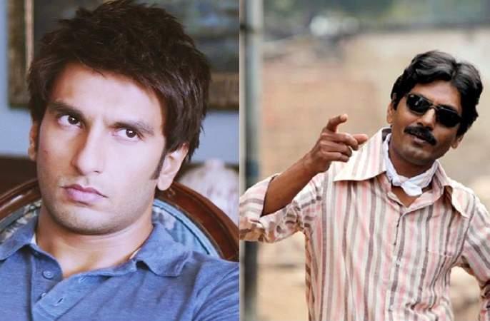 Nawazuddin gave Ranveer 'Chadli Challenge'   नवाजुद्दीनने रणवीरला दिले 'चड्ढी चॅलेंज'