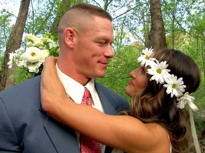 shocking: Three weeks before marriage, John Cena and Nicky Bela's breakup! Push fans !! | shocking :  लग्नाच्या तीन आठवड्यांपूर्वी जॉन सीना व निकी बेलाचे ब्रेकअप! चाहत्यांना धक्का!!