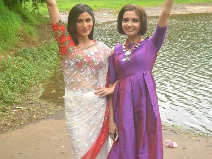 Sheen Das and Parul Chaudhary in Piya Albella are in real life, Best Friends | पिया अलबेला या मालिकेतील शीन दास आणि पारुल चौधरी खऱ्या आयुष्यात आहेत बेस्ट फ्रेंड्स