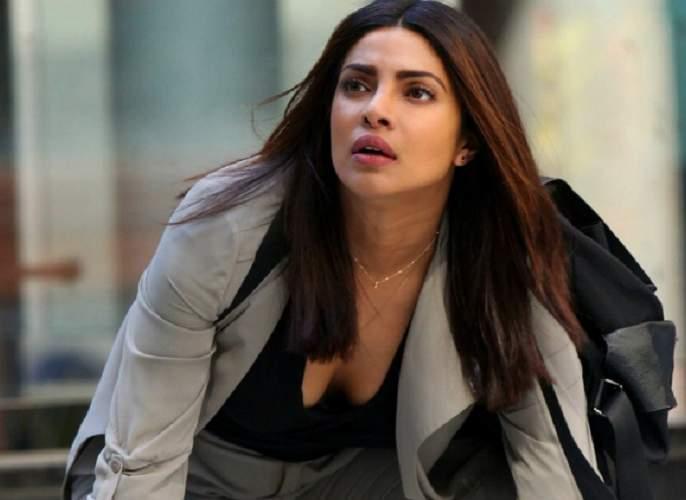 Video: Priyanka Chopra dropped from a moving car on 'Quantico3' set | Video : 'क्वांटिको3'च्या सेटवर धावत्या गाडीतून पडली प्रियांका चोप्रा!!