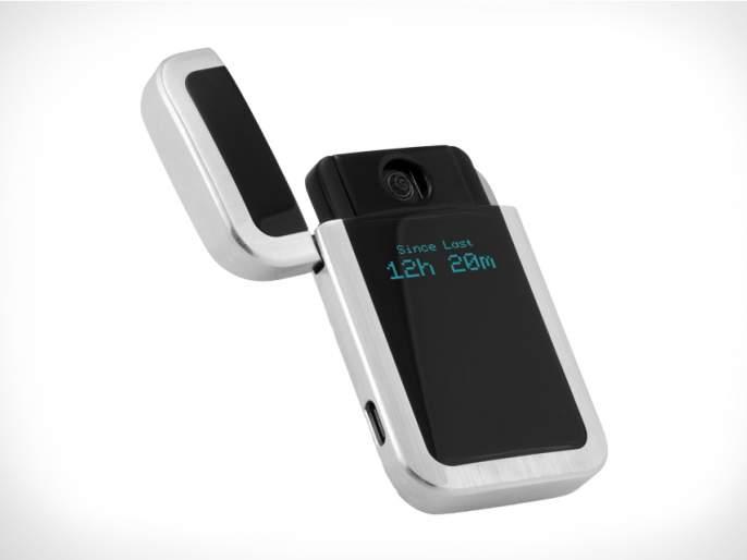 TECH: A smart cigarette lighter for smoking habits! | TECH : धूम्रपानाची सवय सोडवणारे स्मार्ट सिगारेट लायटर !