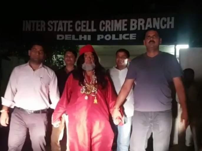 Swami Omla, Delhi crime bribe hacked !! | स्वामी ओमला दिल्ली क्राइम ब्रॅँचने ठोकल्या बेड्या !!