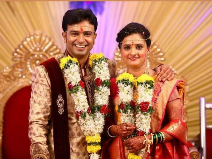 sachin deshpande with his wife