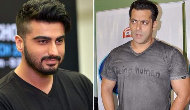 For this reason, Salman Khan did not go on stage while doing dance. Arjun Kapoor | या कारणामुळे सलमान खान डान्स करताना स्टेजवर फिरकला नाही अर्जुन कपूर