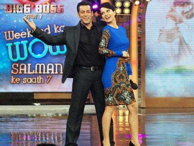 Kangana Ranaut came in the case, after Salman's name ... Kangna says Salman is bizarre | कंगना राणौत प्रकरणात आले सलमानचे नाव पुढे... कंगना म्हणतेय सलमान आहे विचित्र