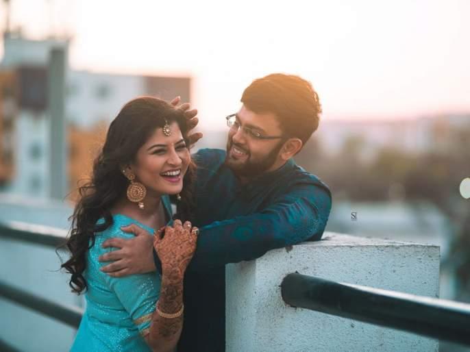 Married wife Savni gave surprise to husband! | नववधू सावनी रविंद्रने पतीला दिले हे सरप्राइज!