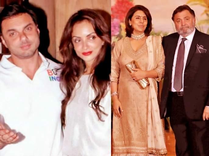 Sonam Kapoor's wedding reception, Rishi Kapoor and Sohail Khan's wife have a fight! | सोनम कपूरच्या लग्नाच्या रिसेप्शनमध्ये ऋषी कपूर अन् सोहेल खानच्या पत्नीचे झाले भांडण!