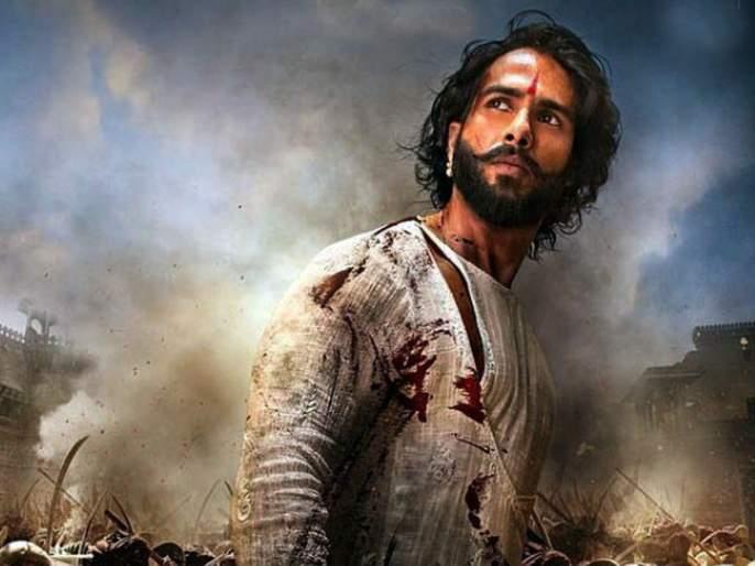 Shahid Kapoor injured on Padmavati's set; Ranveer Singh was hurt! | 'पद्मावती'च्या सेटवर जखमी झाला शाहिद कपूर; रणवीर सिंगलाही झाली होती दुखापत!