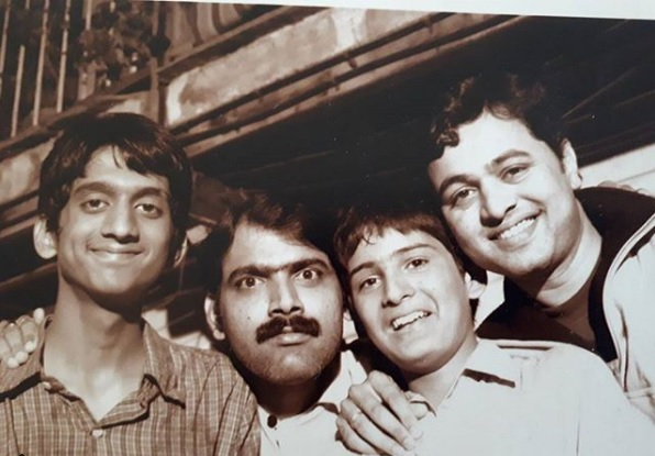 Did you see the old photo of Siddharth Chandekar and Amey Wagh?   सिद्धार्थ चांदेकर आणि अमेय वाघ यांचा जुना फोटो पाहिला का?