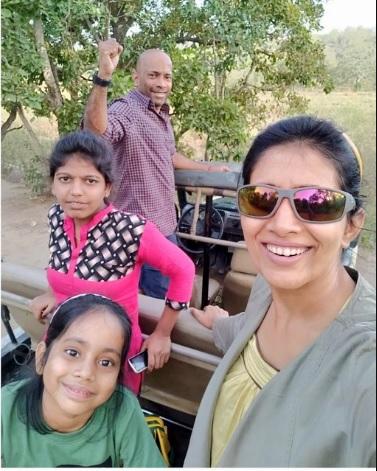 Did you see the pictures of Sonali Kulkarni's holiday? | सोनाली कुलकर्णीचे हॉलिडेचे फोटो तुम्ही पाहिले का?