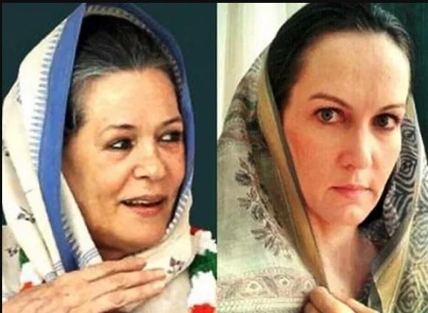 The role of Sonia Gandhi in the Marathi serial - Suzanne Burnett, seen in the film   मराठी मालिकेत-चित्रपटात झळकलेली सुजैन बर्नेट झळकणार सोनिया गांधीच्या भूमिकेत