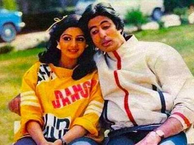 Sridevi refused to work with Bollywood superstar Amitabh Bachchan | श्रीदेवीने बॉलीवूड सुपरस्टार अभिताभ बच्चन सोबत काम करायला दिला होता नकार