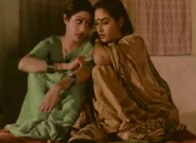 When superstar Rajesh Khanna had done Sridevi and Jaya Prada in the same room ... closed!   जेव्हा सुपरस्टार राजेश खन्ना यांनी श्रीदेवी आणि जया प्रदाला एकाच खोलीत केले होते बंद...!