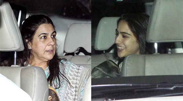 After Sara Khan, my mother came in tension and then she did something ........   सारा खाननंतर आई अमृताही आली टेंशनमध्ये,त्यानंतर केले असे काही........