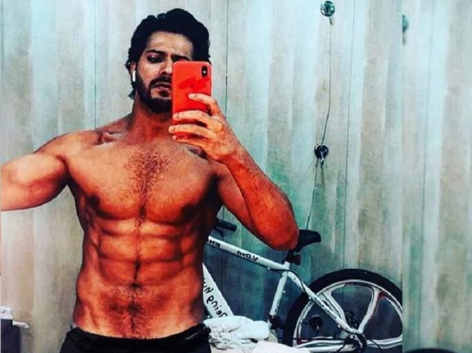 Varun Dhawan melts in sweat for 'stigma'; Photo shared on social media! | 'कलंक'साठी वरूण धवन गाळतोय घाम; सोशल मीडियावर शेअर केला फोटो !