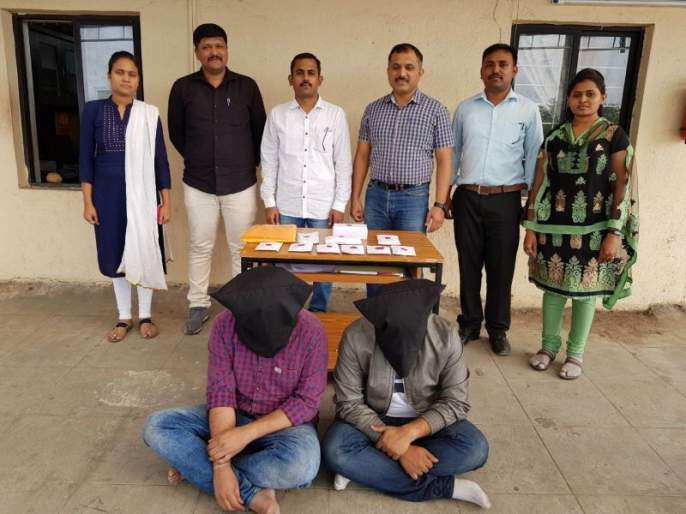 Pune: Cyber cell raids on international call centers | पुणे : आंतरराष्ट्रीय कॉल सेंटरवर सायबर सेलचा छापा,अमेरिकीनागरिकांची फसवणूक करणारी टोळी गजाआड