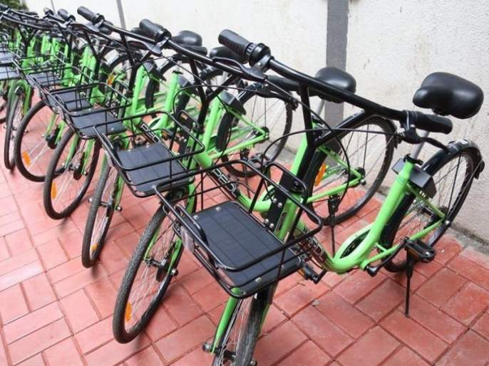 'Cycle race' between Smart City Company-Pune Municipal Corporation; Around 3,500 cycle on road a month | स्मार्ट सिटी कंपनी-पुणे महापालिका यांच्यात 'सायकल' रेस!; महिनाभरात साडे ३ हजार सायकल रस्त्यावर