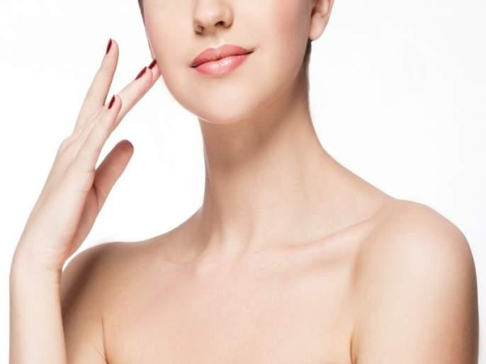 Even after bleach neck looking so dark so follow these tips   ब्लीच वापरुनही मान काळीच दिसते का? वापरा या खास टिप्स!
