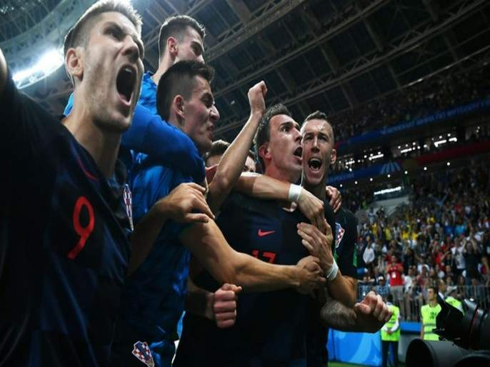 Football Fifa World cup 2018 Semi Final Croatia Vs England Live Updates : England and Croatia who makes history to reach finals | Croatia Vs England : क्रोएशियाने रचला इतिहास; इंग्लंडवर 2-1 अशी मात