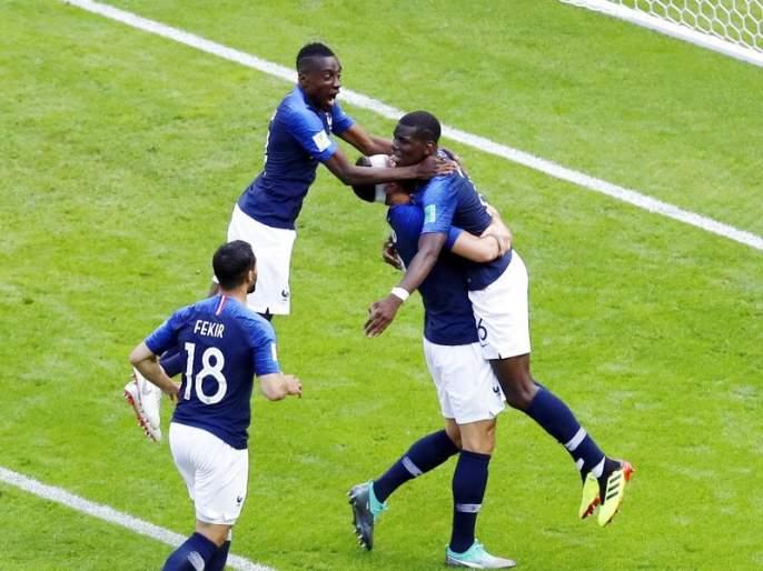 France in Fifa world cup News | विजेतेपद फ्रान्सच्या दृष्टीपथात...