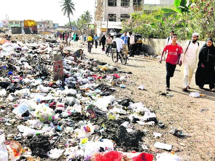 Aurangabad saw the flood of waste! | औरंगाबादमध्ये दिसली जागा की पूर कचरा!