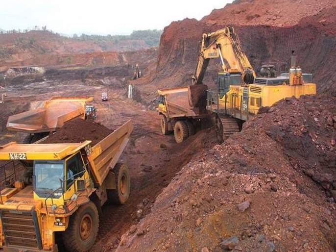 Even the recession in the Goa mining industry, the production of only 6.8 million tonnes | गोव्याच्या खाण उद्योगात अजुनही मंदी, फक्त 6.8 दशलक्ष टन उत्पादन