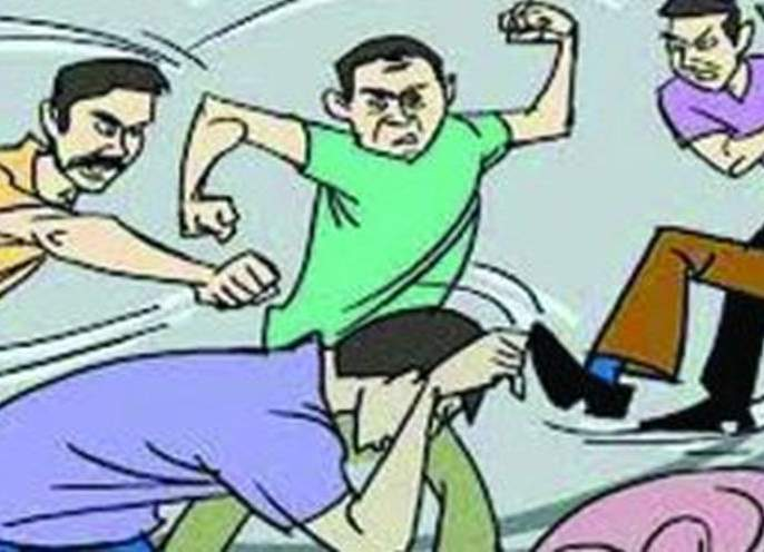 Clashes in two groups at Mungala in Malegaon taluka in washim district | मालेगाव तालुक्यातील मुंगळा येथे दोन गटात हाणामारी