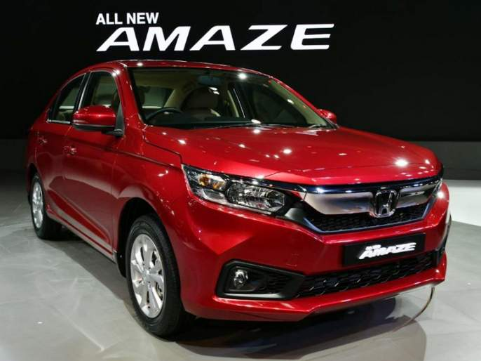 Auto Expo 2018: The next generation of Honda Amaze will soon be in the Indian market | Auto Expo 2018: होंडाची नेक्स्ट जनरेशन Amaze लवकरच भारतीय बाजारपेठेत
