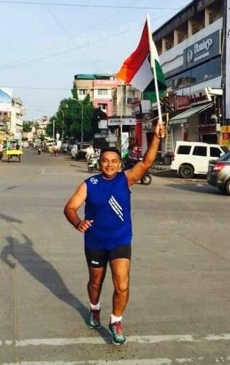 The determination of Nagpur's Mitesh Rambhia to run 860 km of distance in 15 days | नागपूरचे मितेश रांभिया यांचा ८६० किमी अंतर १५ दिवसांत धावण्याचा निर्धार