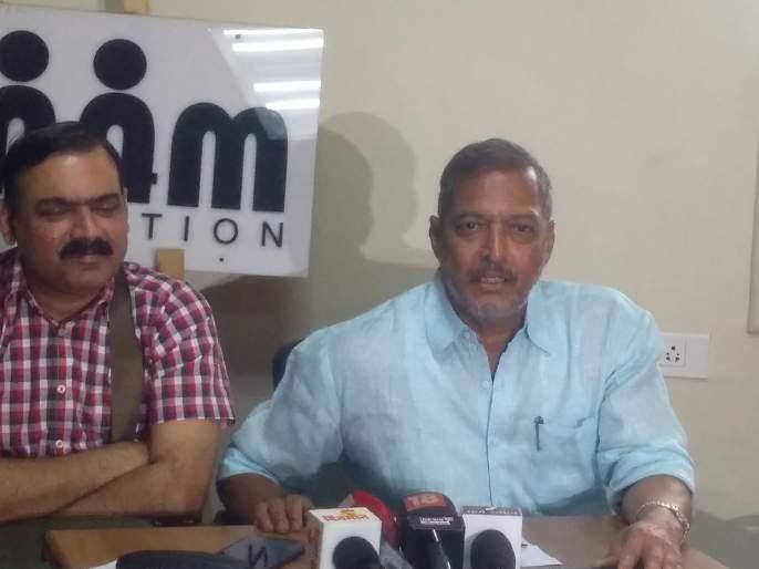 we should give credit to congress for maintainig democracy, says nana patekar | लाेकशाही अजून टिकून अाहे, याचं श्रेय काॅंग्रेसला द्यायला हवं: नाना पाटेकर