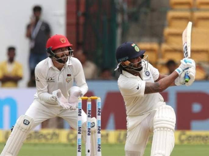 india vs afghanistan 2018 test match records tumbled as shikhar dhawan murali vijay and kl rahul shine | India vs Afghanistan Test Match : पहिल्या अडीच तासात रचले गेले 'हे' विक्रम