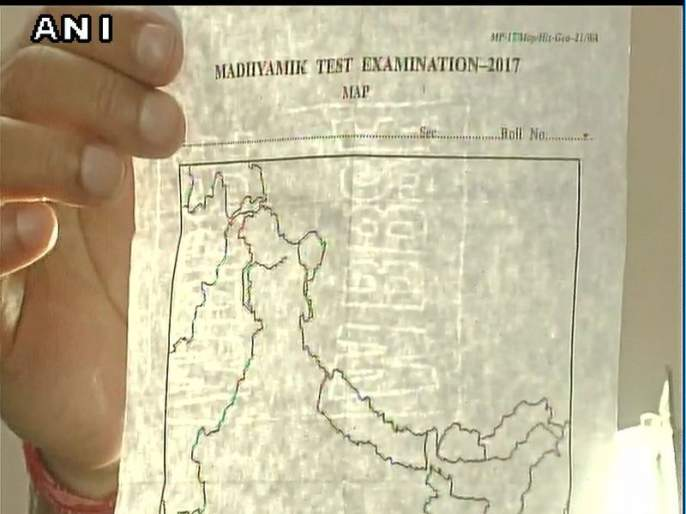 bjp slams tmc over wrong map in exam | परीक्षेच्या पेपरमध्ये काश्मीर पाकचा तर अरुणाचलला दाखवलं चीनचा हिस्सा, भाजपाचा पं.बंगाल सरकारवर आरोप