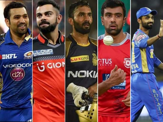 ipl 2018 play offs qualification now two spots five teams in contention | IPL 2018: एका सामन्यानं बदलली समीकरणं; दोन जागांसाठी लढणार पाच संघ