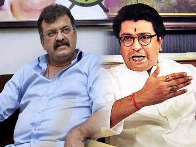 Jitendra awhad went to meet Raj Thackeray today | 'पवारांचे दूत' राज ठाकरेंच्या भेटीला, आव्हाडांची 'कृष्णकुंज'वर दोन तास चर्चा