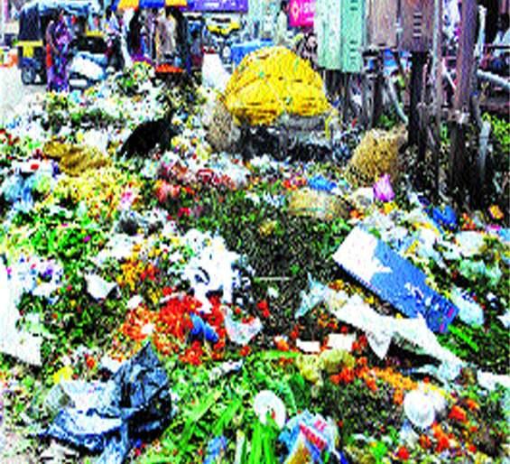 Aurangabad is known as Kachh   औरंगाबादला कच-याचा विळखा