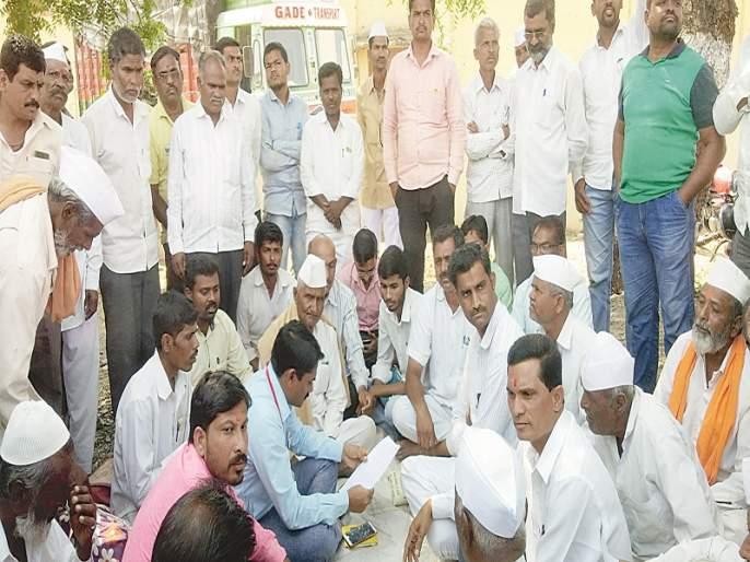 Ghantanad movement before Karjat tehsil for Tukai Chari | तुकाई चारीसाठी कर्जततहसीलसमोर घंटानादआंदोलन