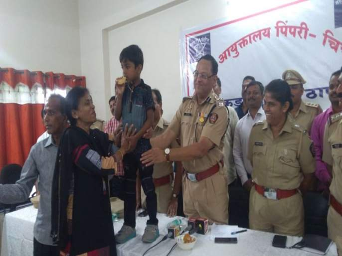 Hijacked kidnapped child; Both of them demanded the ransom of five lakhs | अपहृत मुलाची सुखरूप सुटका;पाच लाखाची खंडणी मागणारे दोघे अटकेत