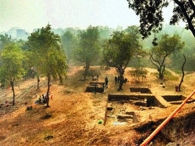 Further strengthening of Pandavas' Indraprastha in Delhi, 2,500 years ago residues found in the excavation | पांडवांचे इंद्रप्रस्थ दिल्लीतच होते याला आणखी बळकटी, उत्खननात सापडले २,५०० वर्षांपूर्वीचे अवशेष
