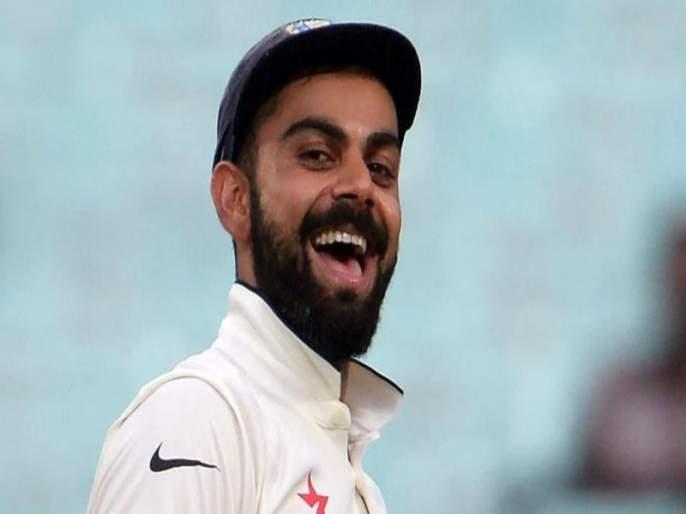 India vs England 2nd Test: The game stopped and Virat Kohli laughed after sometime ... | India vs England 2nd Test: खेळ थांबला आणि काही वेळातच विराट कोहली हसला...