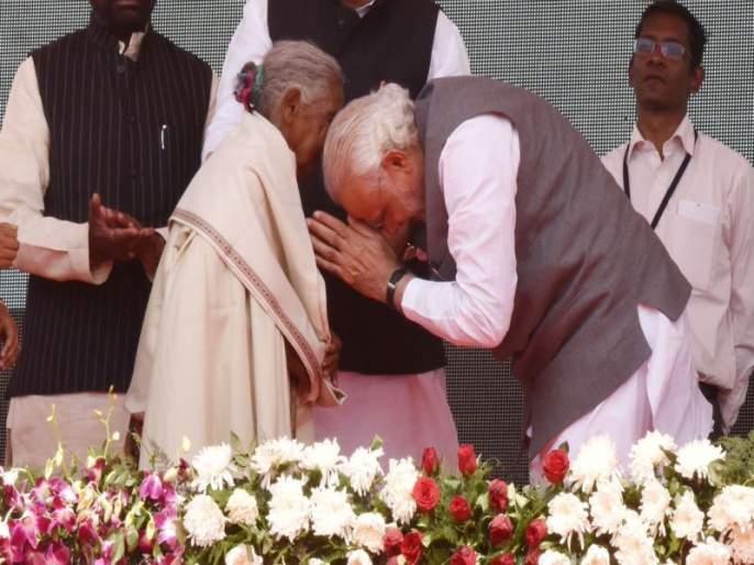 On International Women's Day, PM Modi on the woman who inspired him | पंतप्रधान नरेंद्र मोदींचा महिलांना सॅल्यूट! जागतिक महिला दिनी केलं कुंवर बाईंचं स्मरण